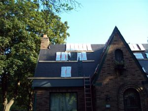 roof replacement in Newton MA