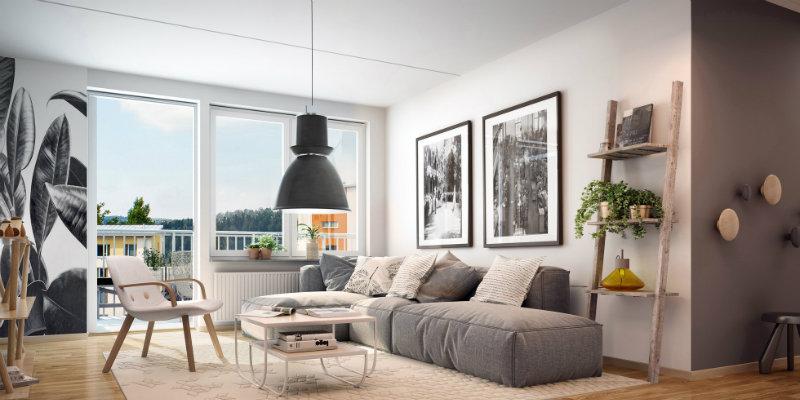 Light fixture ideas for modern living room