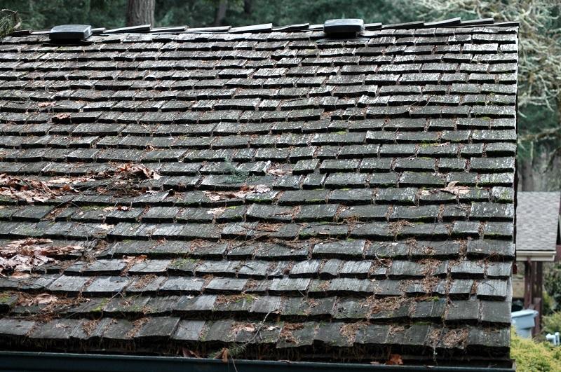roof deterioration